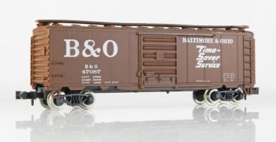 Vagón Cerrado B&O Roco 28502 Escala N