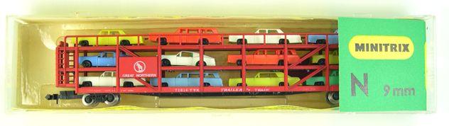 Vagon transporte de Automoviles